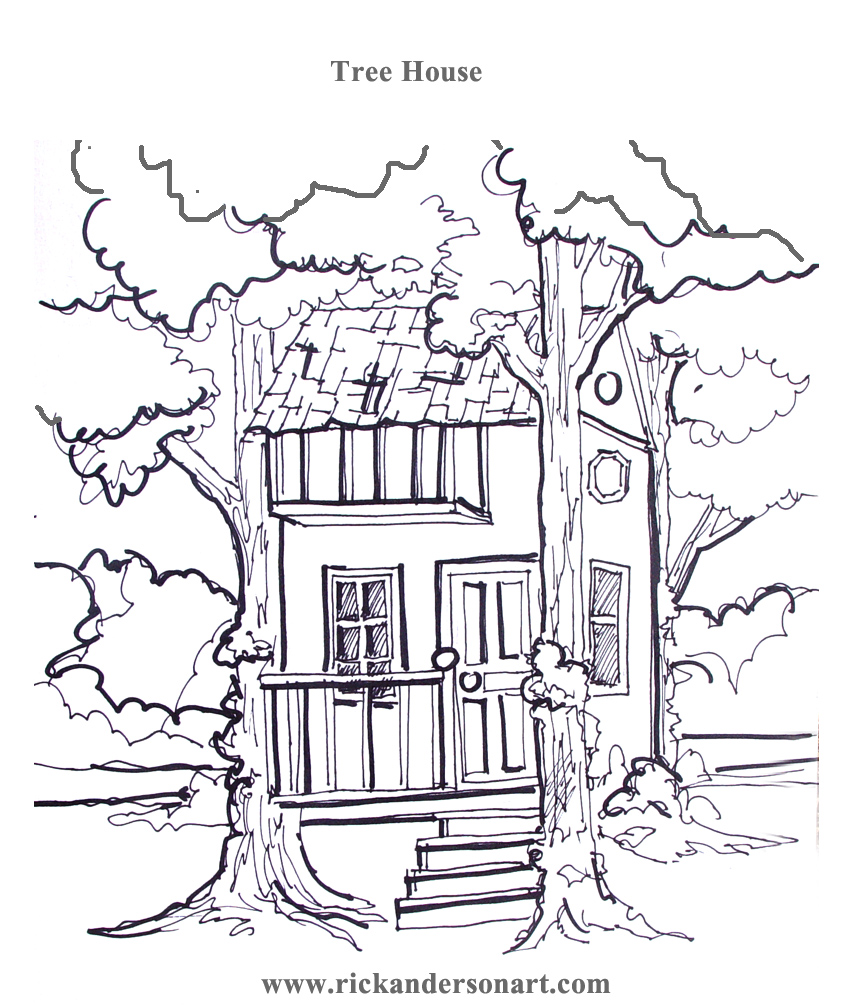 Printable pictures of the magic tree house House pictures
